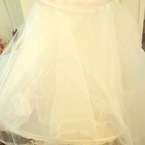 Ball gown slip for bride